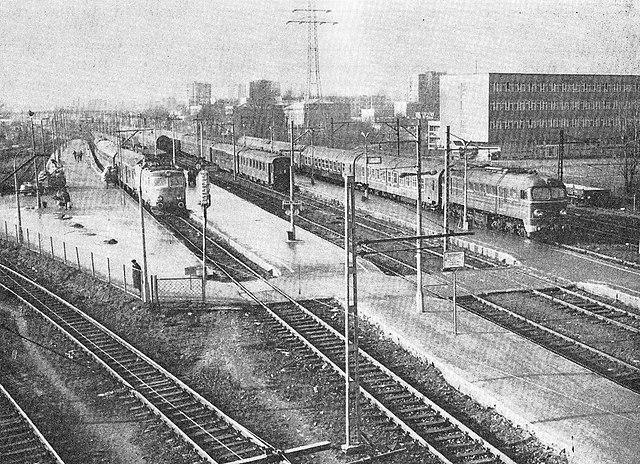Dworzec Gdański in Warsaw