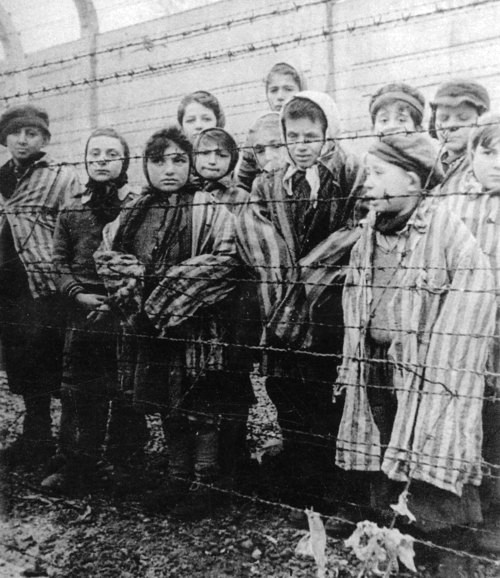 Children in the Holocaust concentration camp