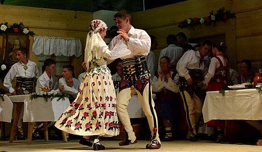 Polish highlanders costume