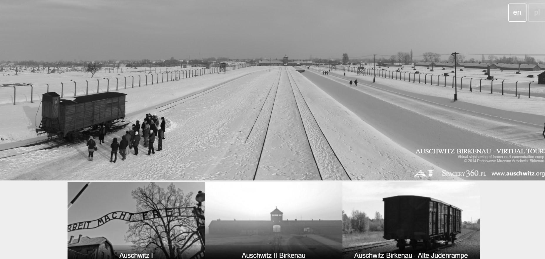 panorama.auschwitz - a way of making a virtual visit to Auschwitz-Birkenau memorial