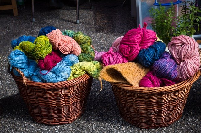 Wool scarf - souvenir from Poland