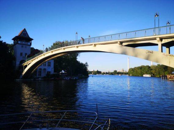 Berlin Treptower Park Bridge (Brücke)