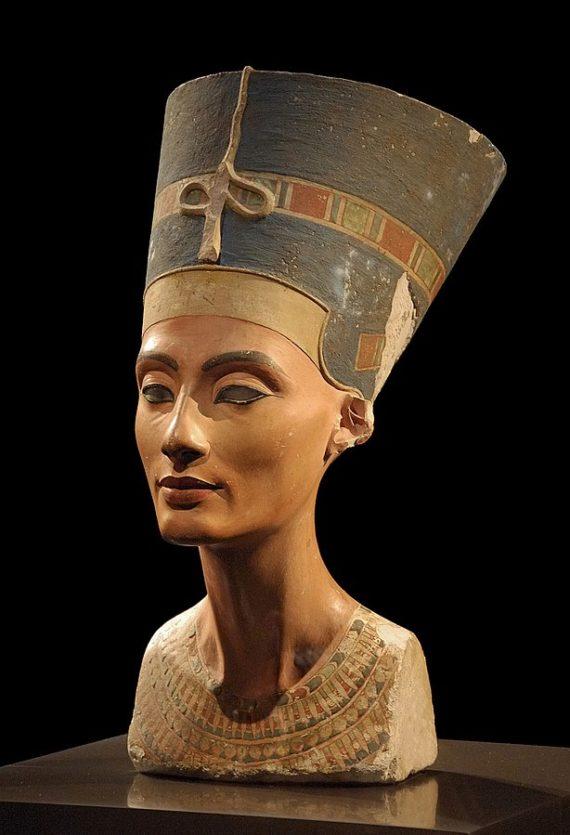 Nofretete - Neues Museum = Nefertiti New Museum (Berlin, Germany)