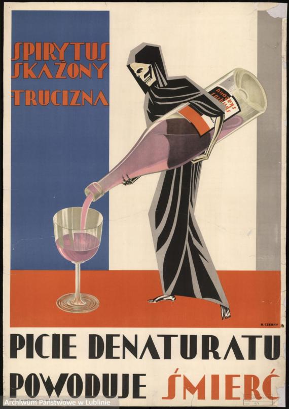 Communist anti-alcohol poster