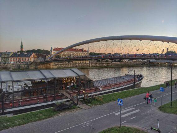 Krakow love bridge