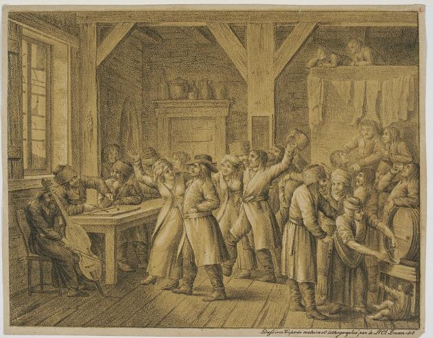 a Polish village inn