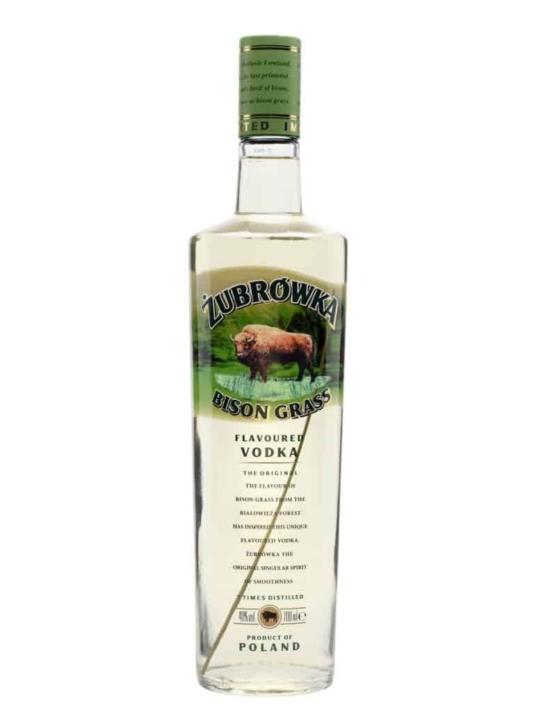 Żubrówka - Polish bison grass vodka