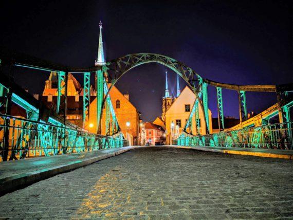 Wroclaw islands and bridges