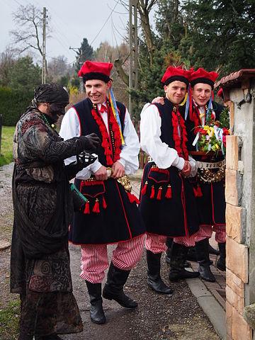 Siuda Baba - a traditional custom from Kraków's vicinity.