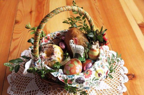 Polish Easter basket.