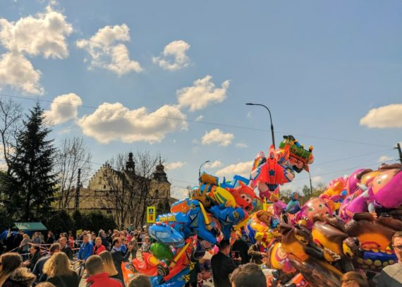 Easter fair in Kraków called Emaus.