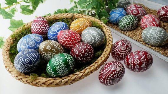 Polish Easter eggs - pisanki.