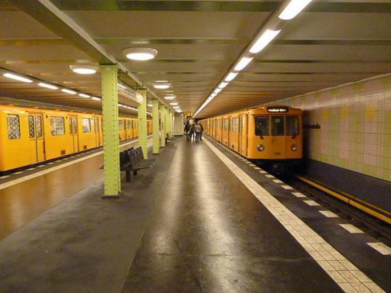 Berlin U-Bahn (metro, tube, underground, subway)