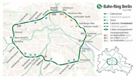 Berlin S-Bahn Ring (S41 & S42)